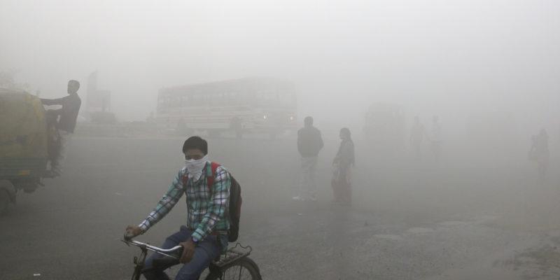 Smog is dangerous.