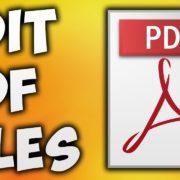 edit pdf free