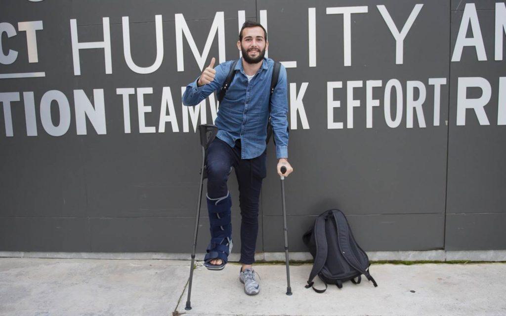 Aleix Vidal is injured.