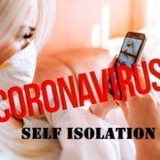 Self Islolation